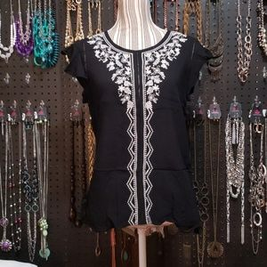 Embroidered Summer Blouse.
